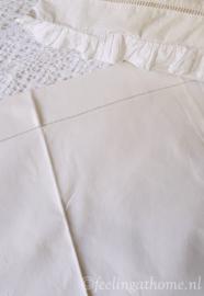 Frans linnen laken, 220 breed
