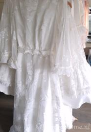 Vintage kanten trouwjurk