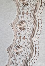 Tafelkleed met kant 245 x 145