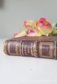 Antiek Frans boekje
