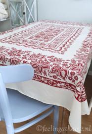 Zijden tafelkleed 160 x 125