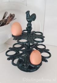 Gietijzeren eier etagère