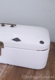 Vintage emaille broodtrommel
