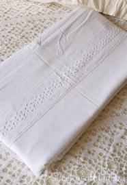 Oude dekenhoes bedstee