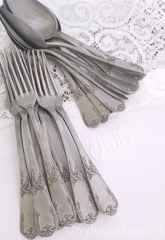 Franse lepels en vorken