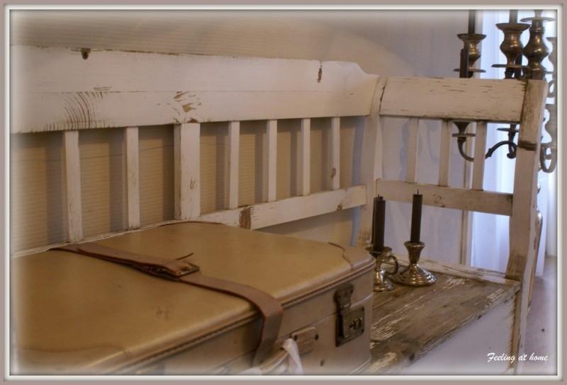 Verwonderlijk Antieke klepbank | Verkocht | Feeling At Home QB-61