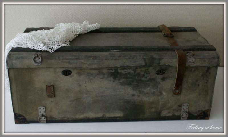 Oude Koffer Kist.Oude Franse Kist Koffer Verkocht Feeling At Home