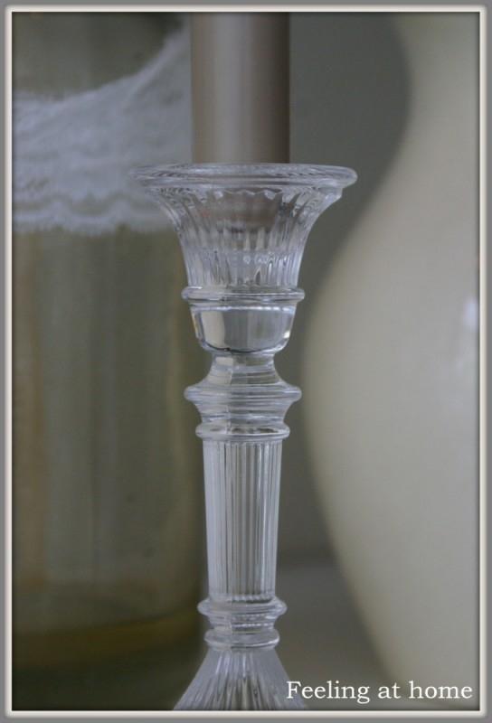 Antieke Glazen Kandelaars.Oude Glazen Kandelaar Verkocht Feeling At Home