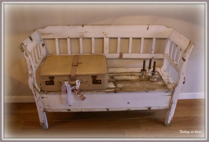 Wonderlijk Antieke klepbank | Verkocht | Feeling At Home EQ-79