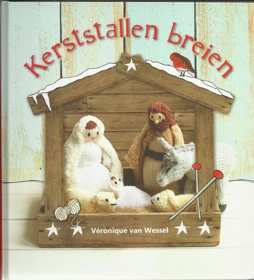 kerststallen breien foto's