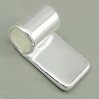 M- Bails medium verzilverd 10 mm.