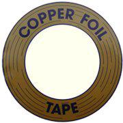 Koperfolie Black coated 5,2 mm