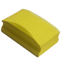 Schuurpad geel (extra fijn / grit 400)