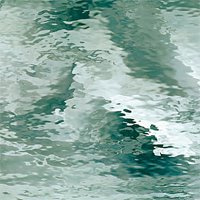 528-1WF kathedraal zeegroen, waterglas