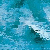 533-1WF  Kathedraal hemelsblauw, waterglas