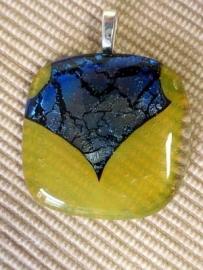Geel Blauw Ketting hanger