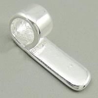 M- Bails small verzilverd 6 mm.