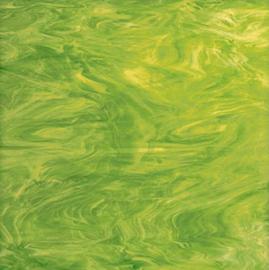 826-71F Limoen groen wit semitransparant