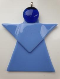 Kerstengel , blauw