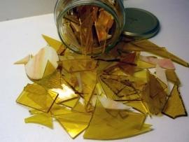 Amber-geel mozaiekmix  500 gram
