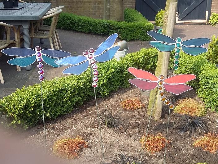 Libelle tuinsteker