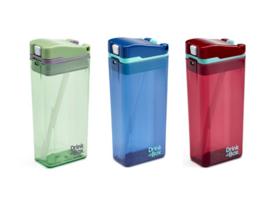 ACTIE: Drink in the box LARGE - 350ml +kleuren - set van 3