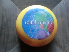 Baby Gouda met logo (900-1000 gram)
