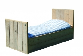 Steigerhouten Bed  junior 150x70