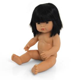 Aziatische pop met getinte huid,  meisje