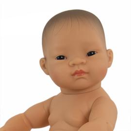 Babypop Aziatisch  meisje  40 cm.