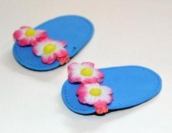 Zomer slippers, 38-40 cm.