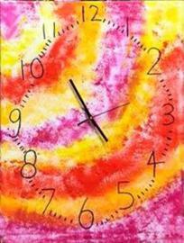 Maak een echte kunstzinnige klok!