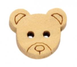 08.04 Houten beren hoofdjes