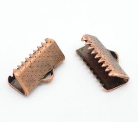 04. Lint / Veter klem 13 mm brons