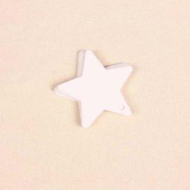 05. 5 kartonnen witte sterren labels