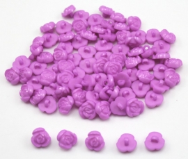 08.02 Paarse rozen knoopjes