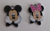 Mickey en Minnie bedels