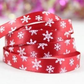 10.13 Rood lint met witte sterren