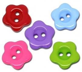 08.02 Gekleurde bloemen knoopjes