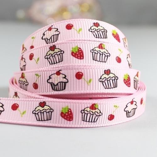10.00 Cupcake lint roze