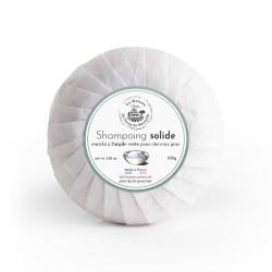 Shampoo zeep tegen vettig haar