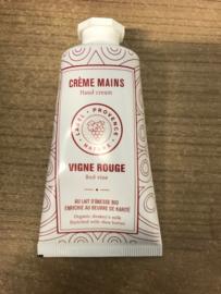hand creme rode wijn / Rotwein