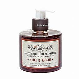 vloeibare savon de marseille arganolie / Arganöl