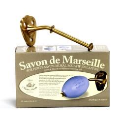 porte savon rotatif (goudkleurig) /Seifenhalter