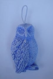 uil (blauw)