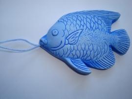 vis (blauw)