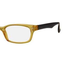 Retro leesbril trans yellow R4012-2