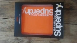 Super Dry Case For I-Pad-2 Orange/White