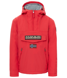 Napapijri Rainforest pop red POCKET