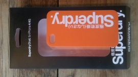 Super Dry Case For I-phone-4 Orange/White